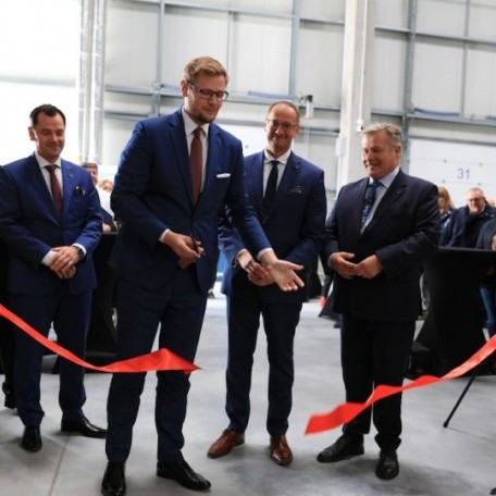 High-bay warehouse opened in Port Gdynia logistics centre